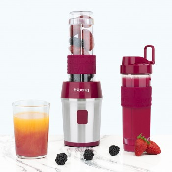 BLENDER PORTABLE ROUGE - 2...